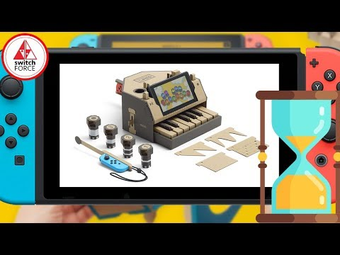 connectYoutube - Nintendo Labo Takes Up To 3 Hours To Build?!