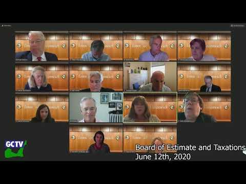 Board of Estimate & Taxation, June 12, 2020