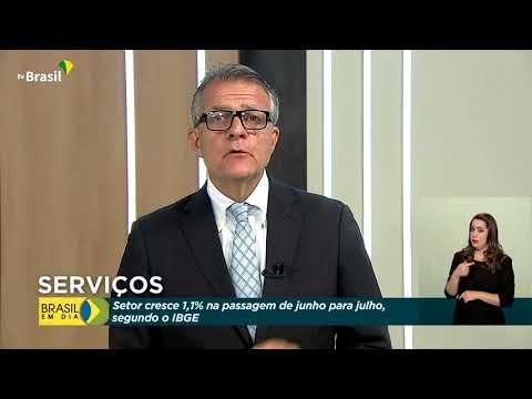 Cientista político Ricardo Caldas analisa crescimento do setor de serviços