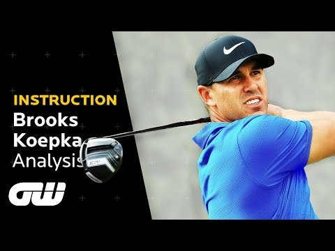 How Brooks Koepka CRUSHES Perfect Drives Every Time | Swing Analysis | Golfing World