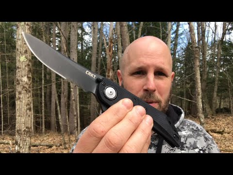 CRKT Seismic With NEW Deadbolt Lock Up: Large-Sized Knife - We Use It, Baton It, & Beat It Up