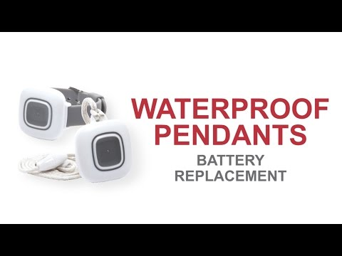 Waterproof Pendant Battery Replacement