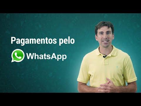Pagamentos pelo WhatsApp já estão disponíveis no Brasil