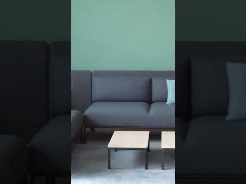 MATERIA - Crest sofa - Design: Mattias Stenberg