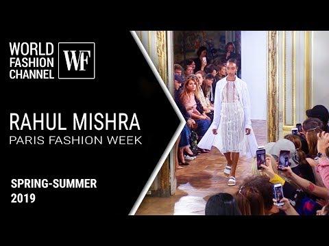 Rahul Mishra | Paris fashion week — ss19