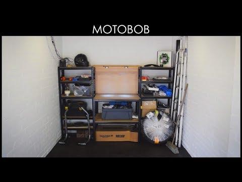 Best Cheap Amazon Garage Workbench & Shelves