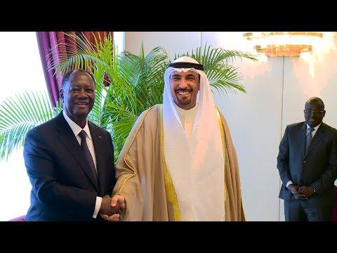 Lettres de créance de l'Ambassadeur de l'Etat du Koweït en Côte d'Ivoire, ce 14 mai 2018
