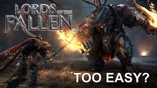 Lords of the Fallen: NG+ Dissapointing