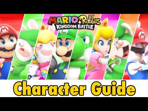 connectYoutube - Mario + Rabbids Kingdom Battle Character Guide