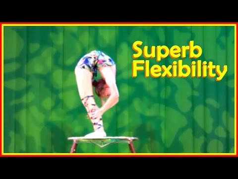 Contortion Girls With Incredible Range Of Movements
