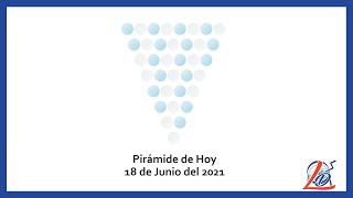 Pirámide del 18 de Junio del 2021 (Pirámide de la suerte, Pirámide del día, Pirámide de Hoy)