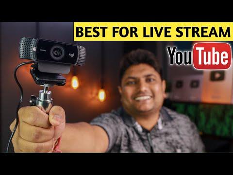 Best Webcam For Youtubers | Logitech C922 Pro Stream Webcam Review |   Best Webcam for PC