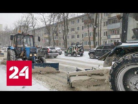 Ударный снегопад обрушится на Владивосток