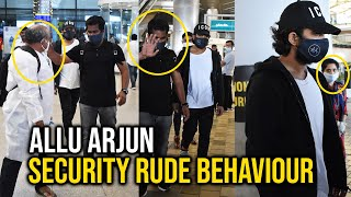 Allu Arjun Exclusive Visuals At Hyderabad Airport TODAY | Tollywood | Pushpa Movie - TFPC