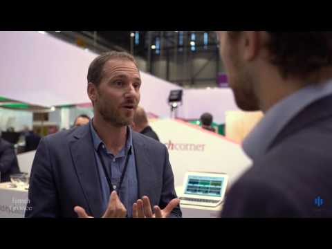 Mathias Wegmueller talks to Fintech Finance at Sibos 2016