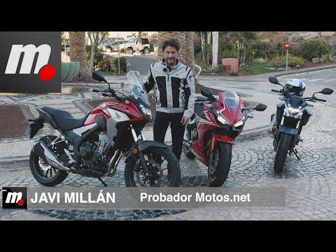 Honda CB500F/CB500X/CBR500R   Presentación / Test / Preview en español