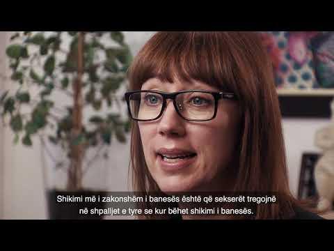 Om den svenska bostadsmarknaden - textad albanska