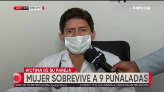 Una mujer sobrevive 9 puñadas por parte de su pareja, ocurrió en Cotoca