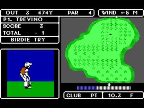 Lee Trevino's Fighting Golf (Japan: Super Mex) (SNK, Mindseed) (MS-DOS) [1988] [PC Longplay]
