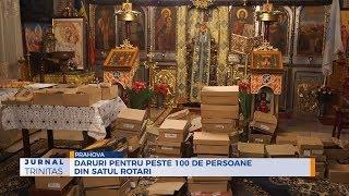 Daruri pentru peste 100 de persoane din satul Rotari