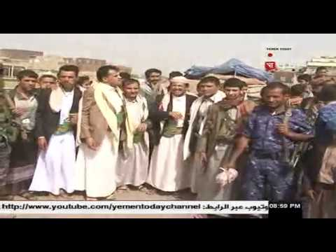 قيادة محافظة صنعاء تتفقد المرابطين في الحزام الأمني  25 - 6 - 2017