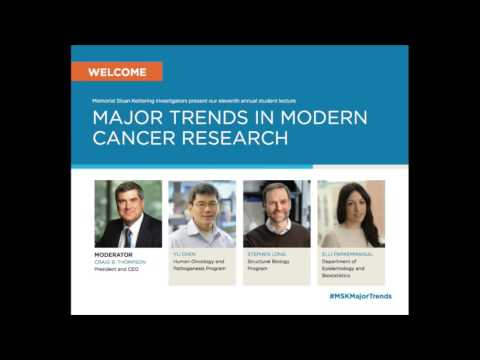 2016 Major Trends in Modern Cancer Research