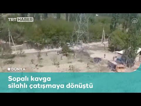 Kırgızistan-Tacikistan sınırında çatışma çıktı