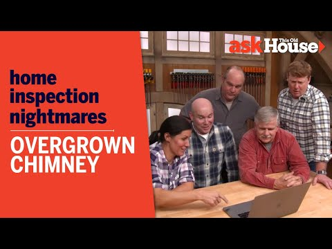 Home Inspection Nightmares | Overgrown Chimney