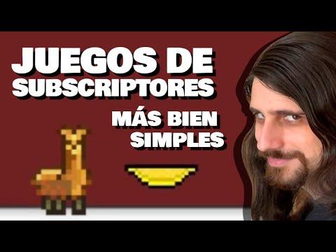 Juegos de subscriptores que no dan para video