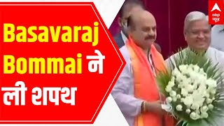 Basavaraj Bommai takes oath as the CM of Karnataka | LIVE report - ABPNEWSTV