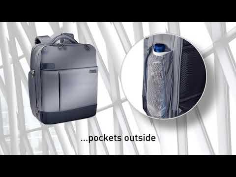 """Leitz Complete 15.6"""" Backpack Smart Traveller - EN"""