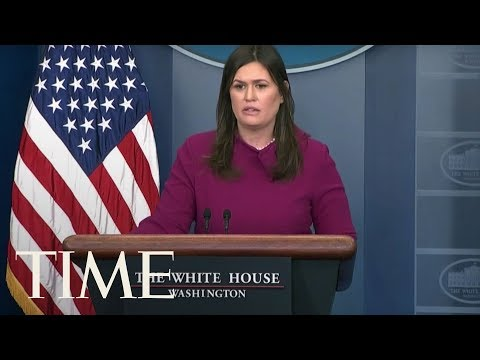connectYoutube - Press Secretary Sanders Holds First Briefing Since Parkland, Florida School Shooting | TIME
