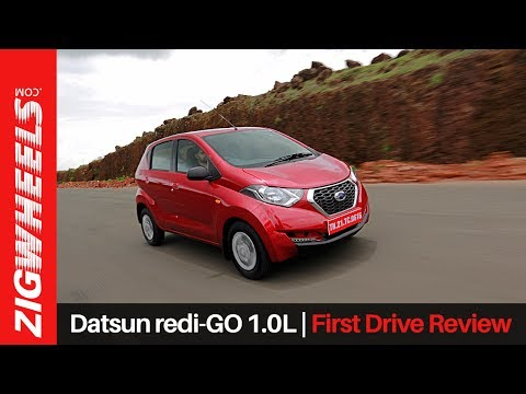 Datsun Redigo 1.0 | First Drive Review | ZigWheels.com