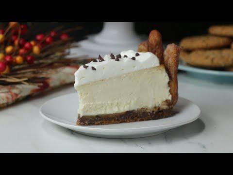 Chocolate Chip Churro Cookie Cake Creation ? Tasty