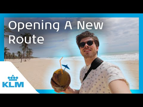 KLM Intern On A Mission - Opening A New Route