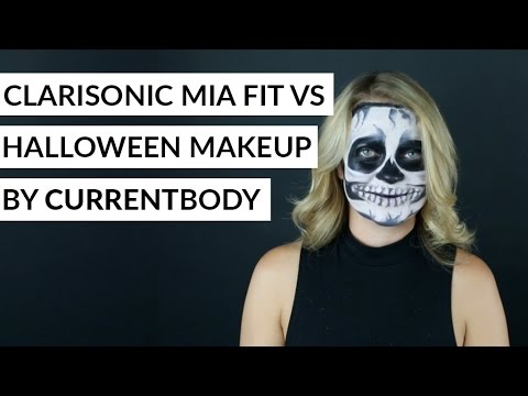 Clarisonic Mia Fit vs Halloween Make-Up by CURRENTBODY
