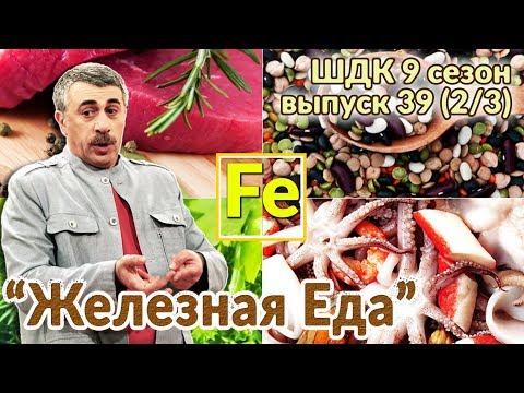 «Железная» еда — Доктор Комаровский