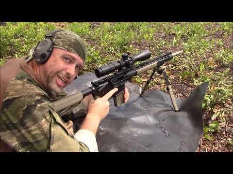 Poor Mans Sniper rifle, accuracy testing - part 1