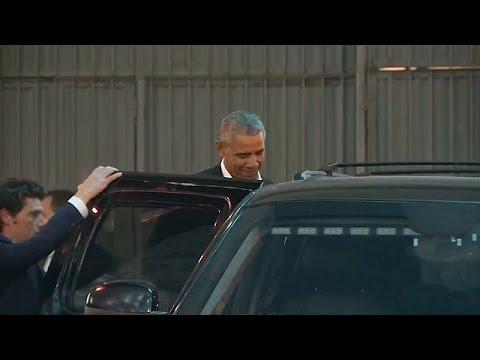 Obama mesure sa popularité à New York