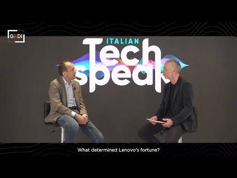 How Innovation Fueled Lenovo's Rise | Interview with Lenovo's Luca Rossi | Italian Tech Speak