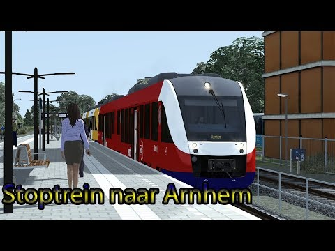 Stoptrein naar Arnhem  Train Simulator 2018