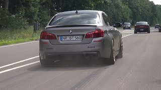 700HP BMW M5 F10 Bimmer Tuning  30 Jahre Edition Accelerating!