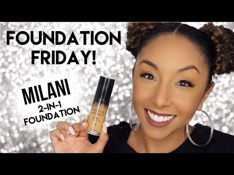 Foundation Friday! Milani Conceal + Perfect 2-In-1 Foundation Review | BiancaReneeToday