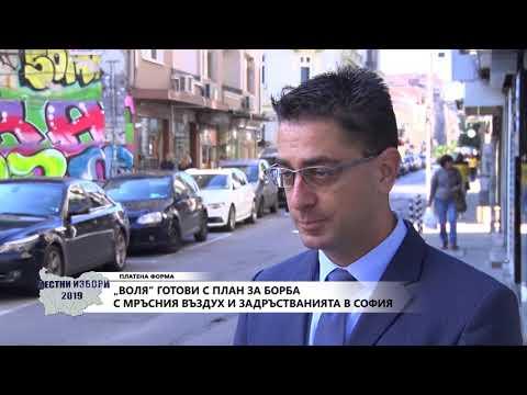 ВОЛЯ готви с план за борба с мръсния въздух и задръстванията в София