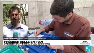 Présidentielle en Iran : 5 millions de personnes ont voté avant 13 h (ministère de l'intérieur)