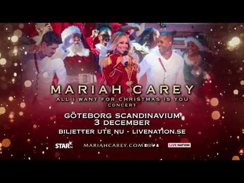 Mariah Carey - 3 DEC 2018, Scandinavium, Göteborg
