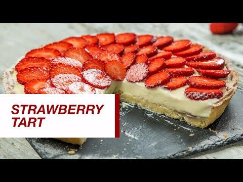 Strawberry tart | Food Channel L Recipes