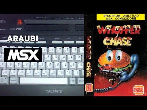 Whopper Chase (Erbe Software, 1987) MSX [197] Walkthrough Comentado