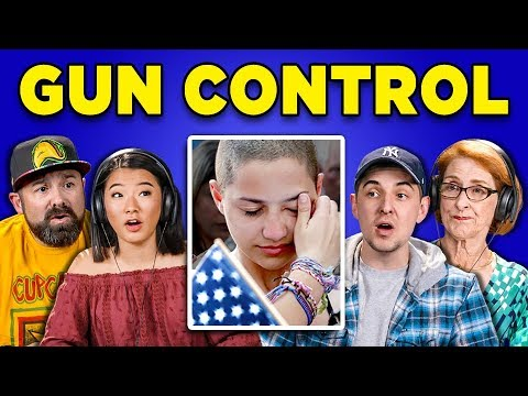connectYoutube - GENERATIONS REACT TO GUN CONTROL IN AMERICA