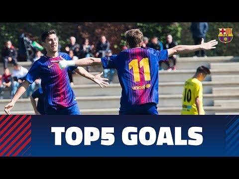FCB Masia-Academy: Top 5 goals 17-18 March